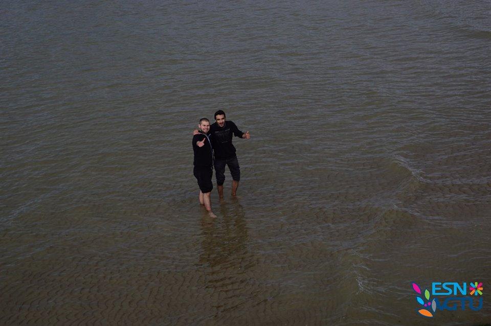Kad si u Klaipedu - namoči noge u Baltik