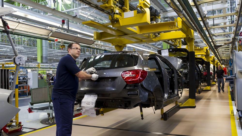 Mercedes Benz factory - Rastatt